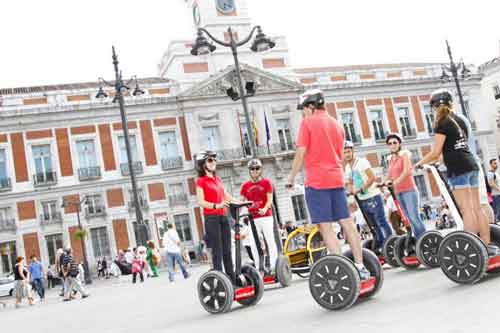 Tour Madrid on a Segway