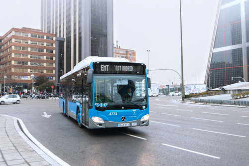 Bus services in Madrid