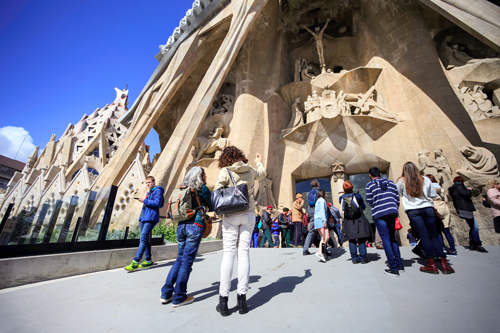 Entry Tickets for Sagrada Familia