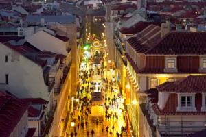 Tour notturno a Lisbona