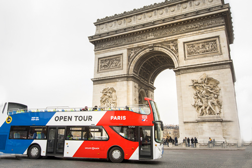 Tickets for Sightseeing Bus in Paris