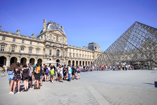 Tickets for the Louvre Museum