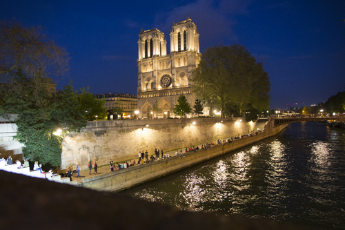 Tour Paris by night